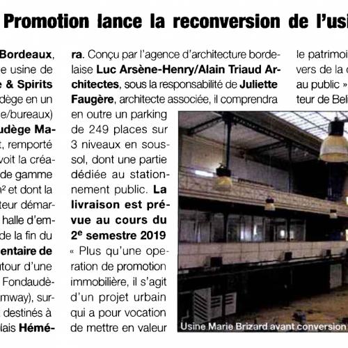 Belin Promotion - Immo hebdo - Agence La Cerise