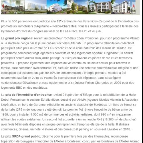 Belin Promotion - lemoniteur.fr - Agence La Cerise
