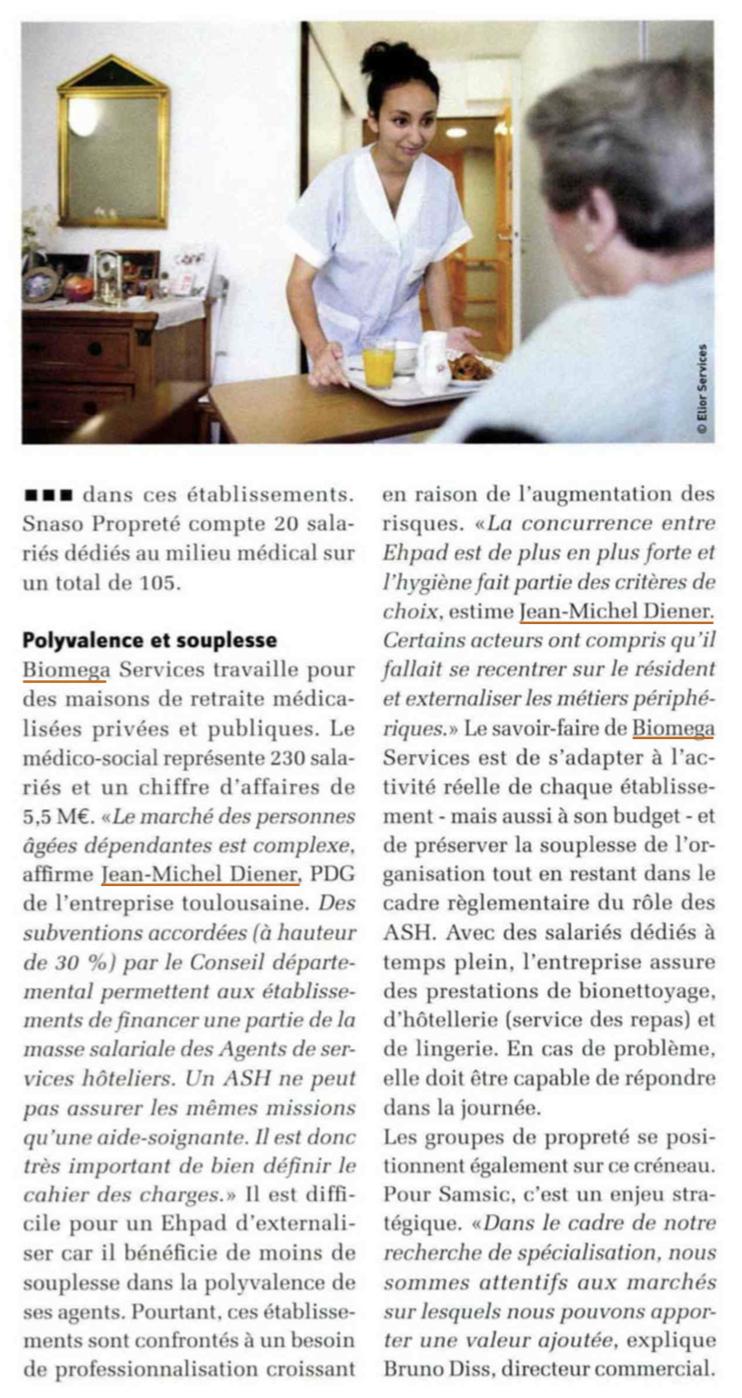 Biomega services - Services - Agence La Cerise