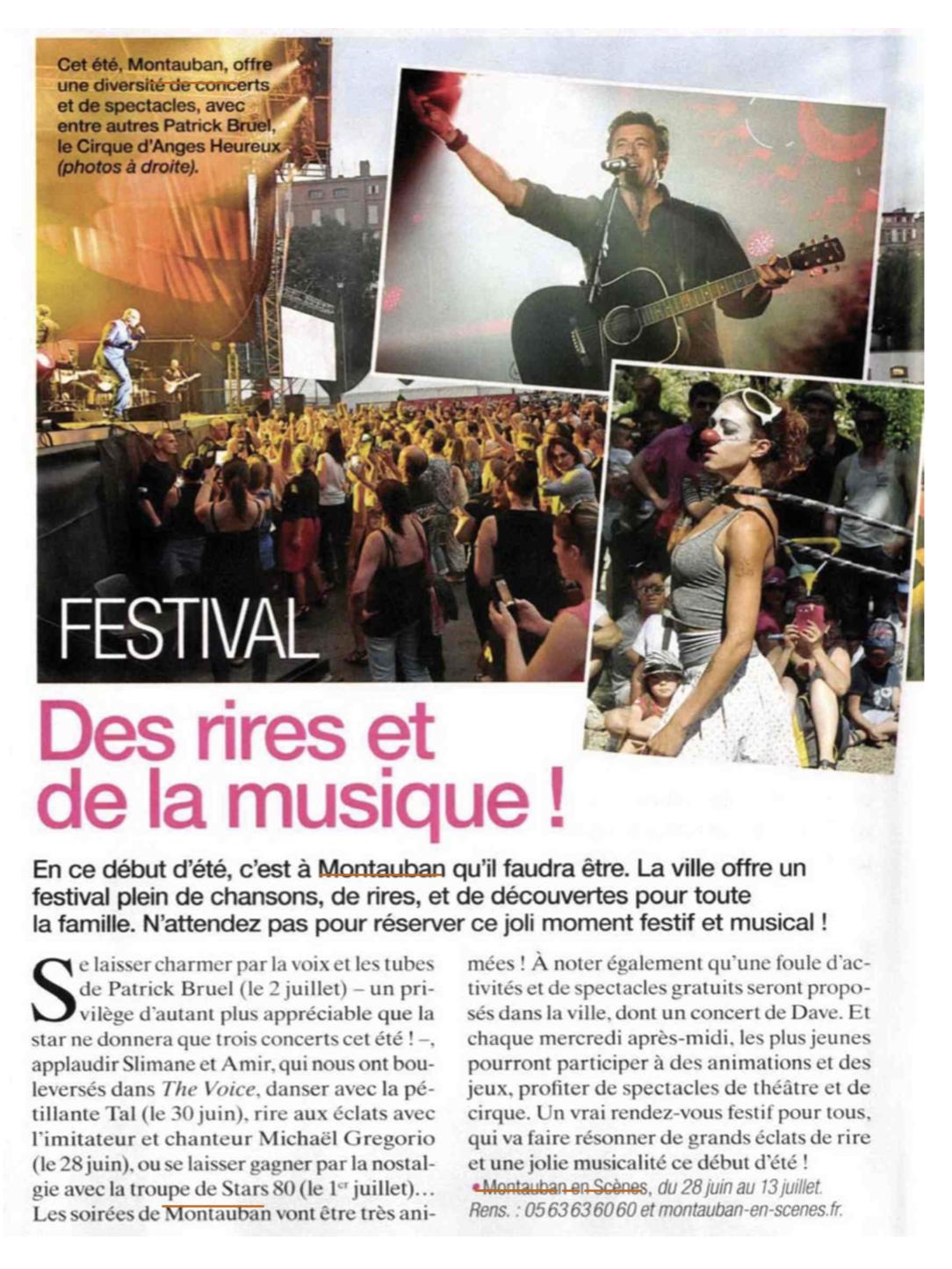 Montauban en Scènes - Maxi - Agence La Cerise